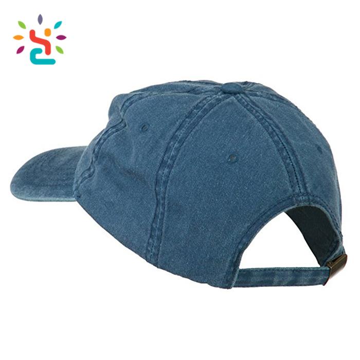 Wholesale emoji hat peruvian cotton gorras hip hop distressed plain dad hats  blank denim kids size 6d5b5bb123e