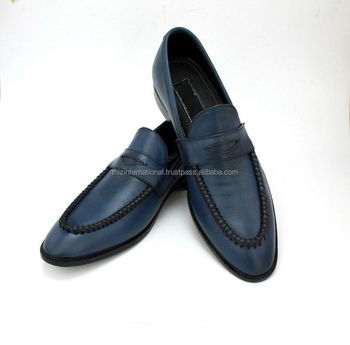9124d98fda3 Handmade Mens Navy blue moccasins shoes