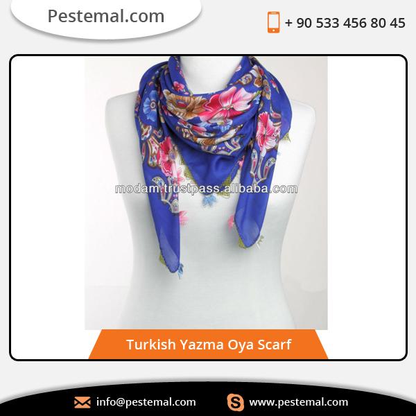 Calidad Diseño Hecho A Mano Bufanda Turquía   Precio Razonable Para ...