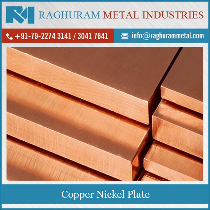 100% Top Quality Low Price Strong Built Copper Nickel Plate