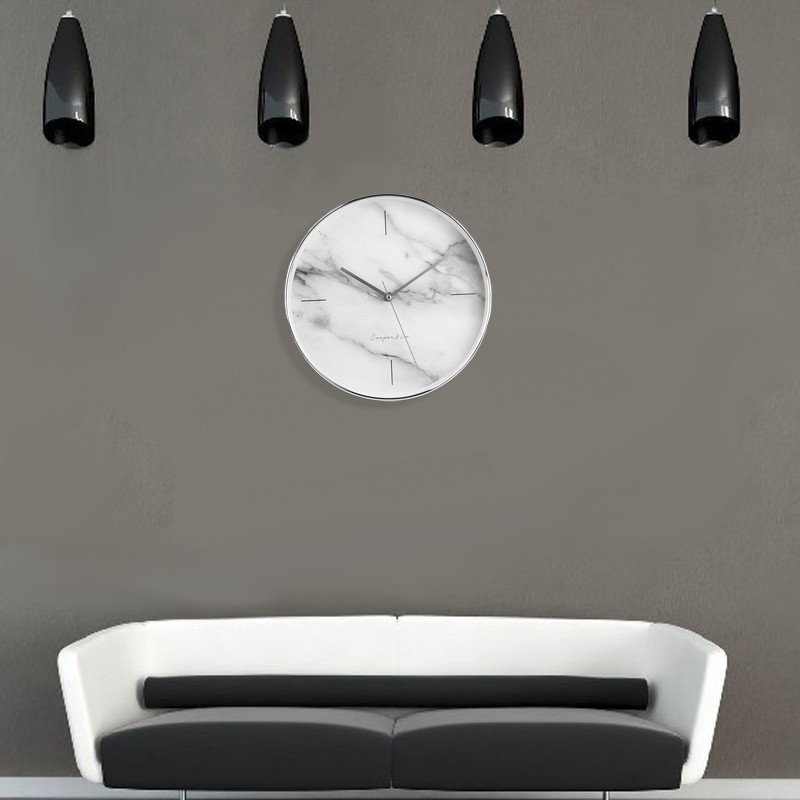 Stylish And Fashionable Contemporary Marble Wall Clock