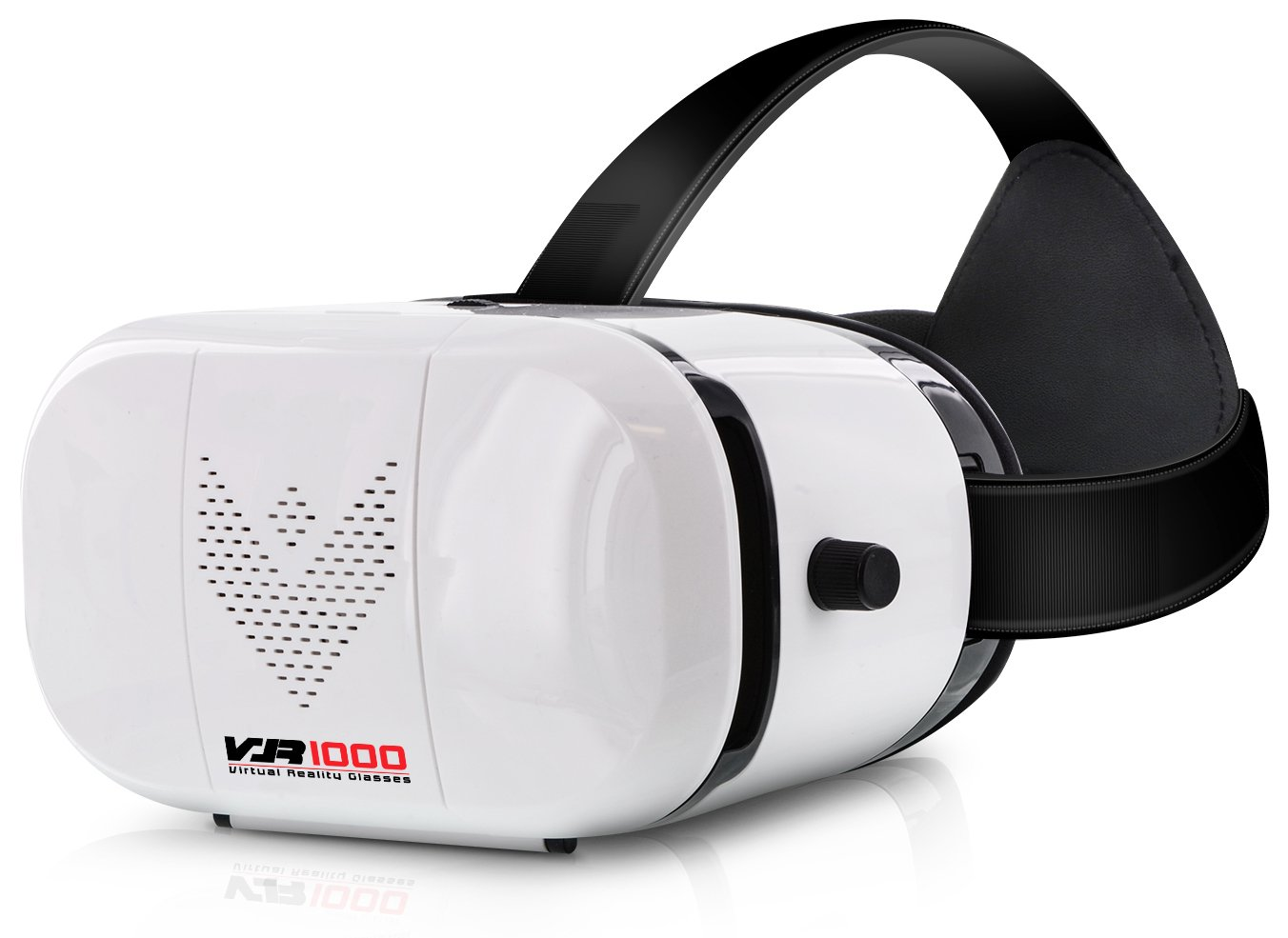Aduro VR1000 3D Virtual Reality Glasses Headset, Suitable for 4.7-6.0 in Smartphones for Movies/Games/Viewing w/360 ° Panoramic Viewing Angle