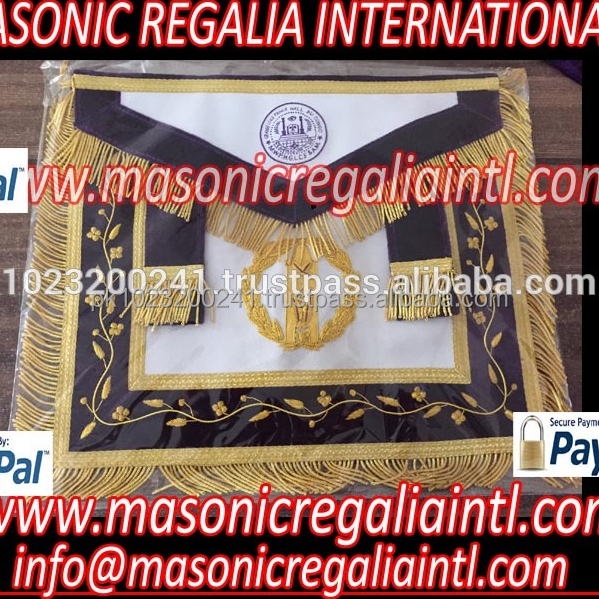 MASONIC Regalia GRAND LODGE CUSTOM MADE APRONS