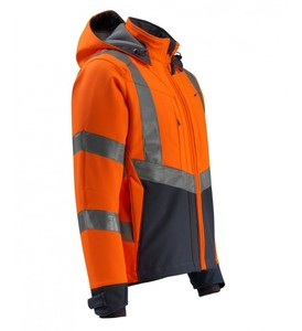 Waterproof Jacket Warning High Visibility Work Wear Security Work Clothing reflective safety Workwear