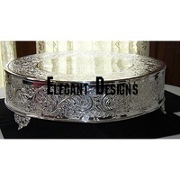 WEDDING DECORATION EMBOSSED CAKE STAND
