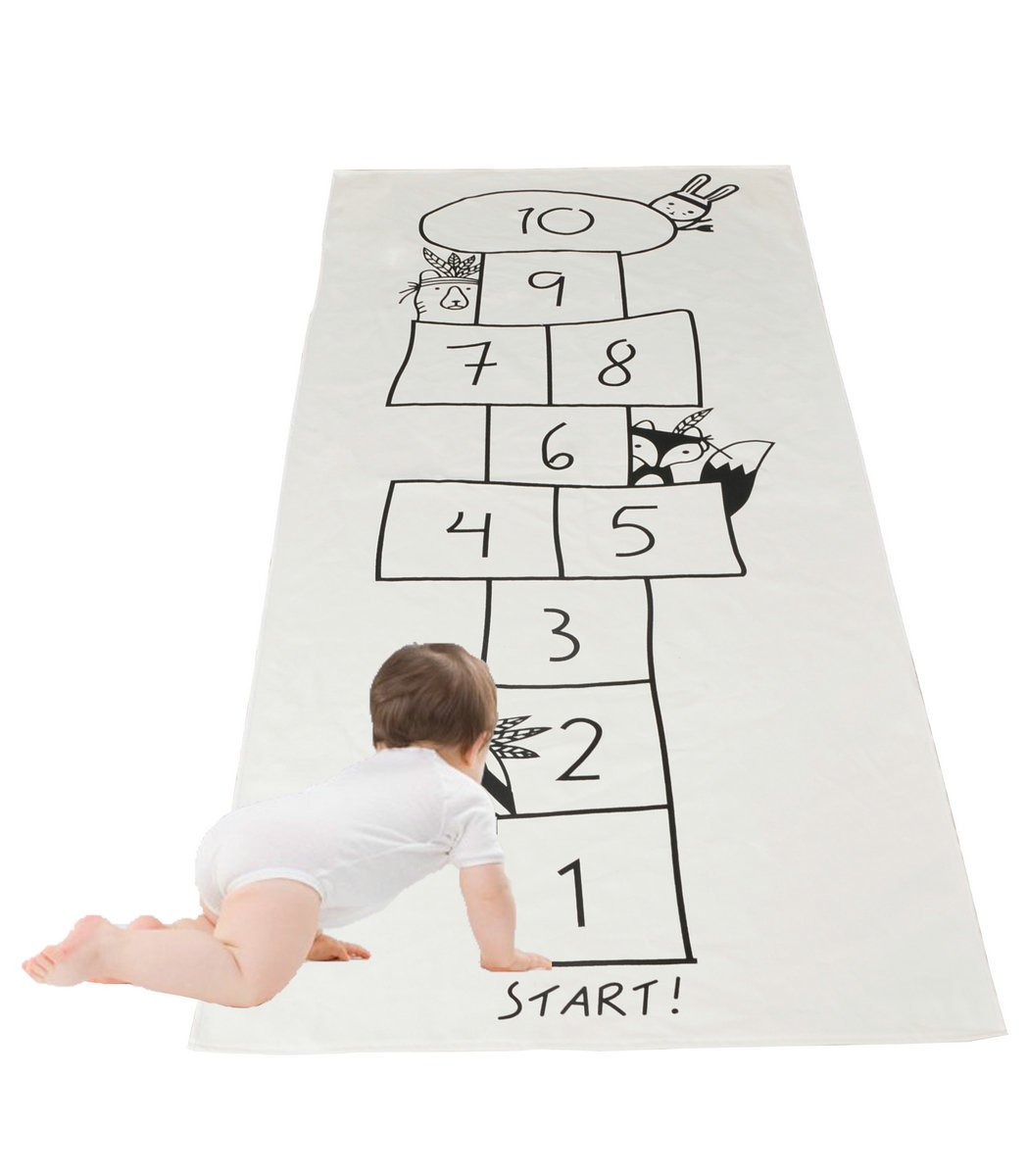 Kaguster Kid Chilren Rug Play Carpets Hopscotch