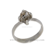 New design herkimar diamond 925 silver ring