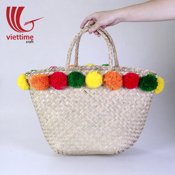 Hot New Product Seagrass Tote Bag, Seagrass Summer Bag Wholesale
