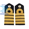 Captain Epaulette for the Royal Navy/Captain-Royal-Navy-RN-Shoulder-Board-Epaulette/Professional Military Shoulder Board Epaulet