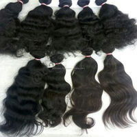 Natural Unprocessed Divine Remy Raw Virgin Indian Human Hair Extensions Straight wavy Curly Hair Bulk From Chennai Shop