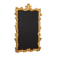 WALL BLACKBOARD WITH WOODEN FRAME GOLD