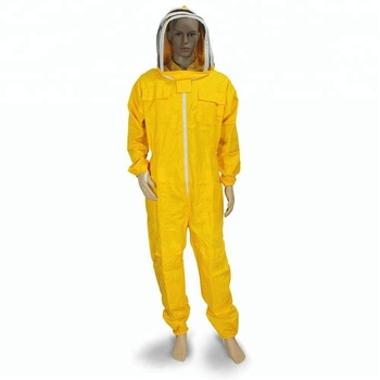 Beekeeping Suit All in One Fencing Veil Total Protection for Professional & Beginner Beekeeper