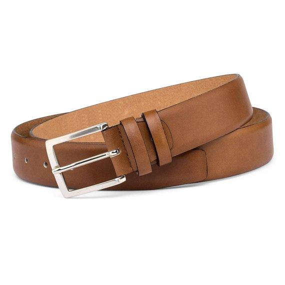 2beec61f7 Cinturones de cuero clásico de moda limpio y bien-con cuero de alta calidad
