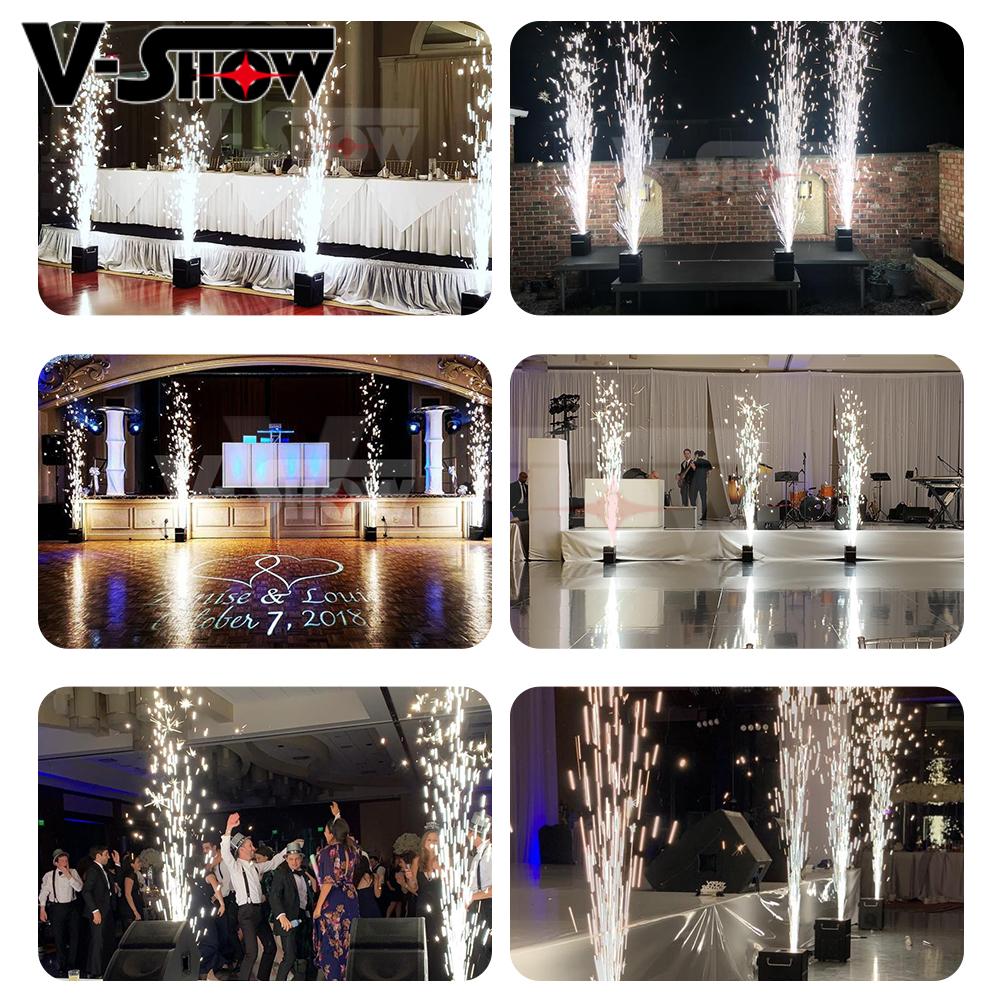 10 borse di Titanio in polvere effetti speciali per il freddo pyro scintilla macchina fontana coperta di nozze fuochi d'artificio in polvere polveroso