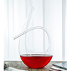 1.1L Horn Design High Quality Crystal Hand Made Wine Decanter