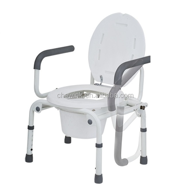 Hospital Adult Potty Chair Disabled Home Mobility Aids