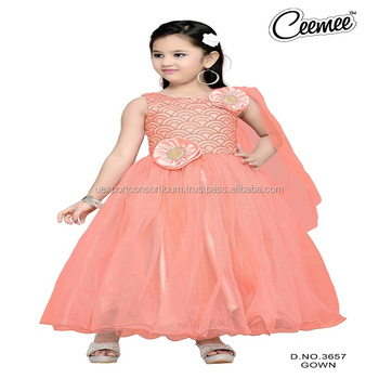 e92c205bd Latest Beautiful Princess Girls Party Wear Dresses - Buy Different ...