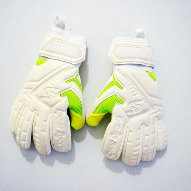 New German latex Luvas de Goleiro Palm GoalKeeper gloves / 4mm Giga látex goleiro