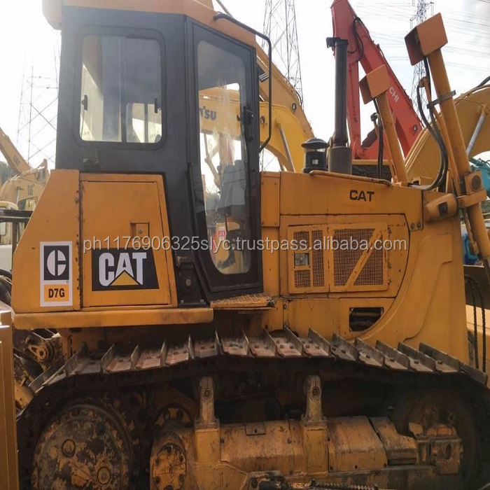 Used Bulldozer Cat D7G With best condition /Caterpilla D6G D6h d7g d8r Bulldozer /Cat Track Dozer d7g used at good price