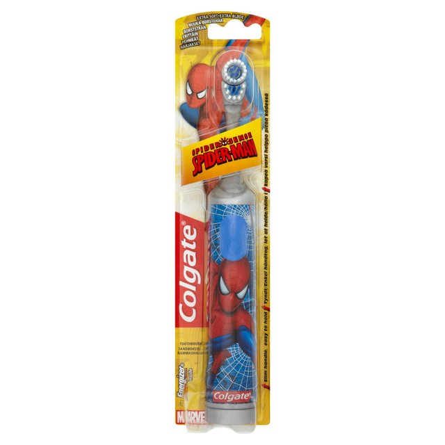 Colgate Kids Spiderman Battery Power-Zahnbürste