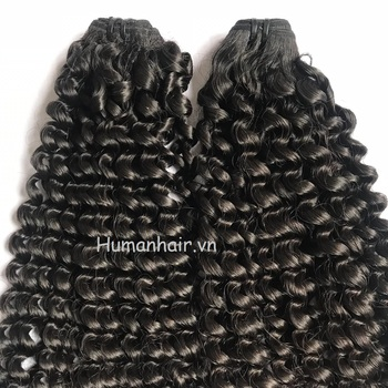 Best quality hair body wavy curly 100% human hair from Vietnam