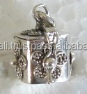 BP09-silver box pendant