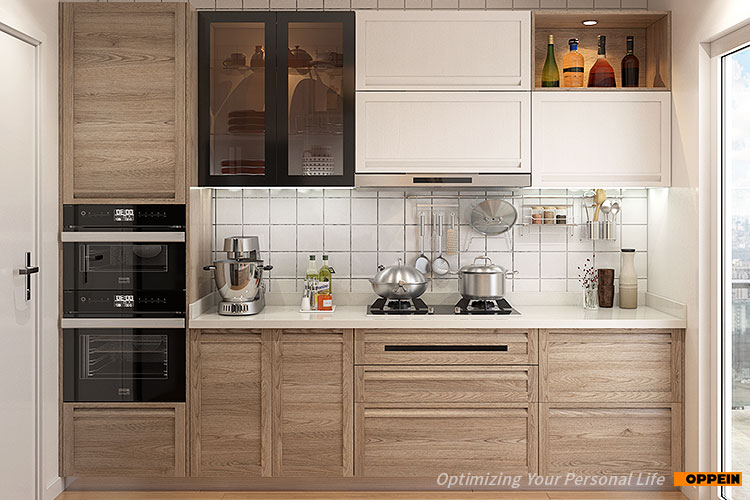 Karachi Thermoformed Doors Wall Mounted Kitchen Cabinets ...