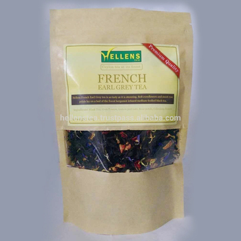 French Earl Grey Tea premium pouch | Premium quality tea pouch | Private label packing