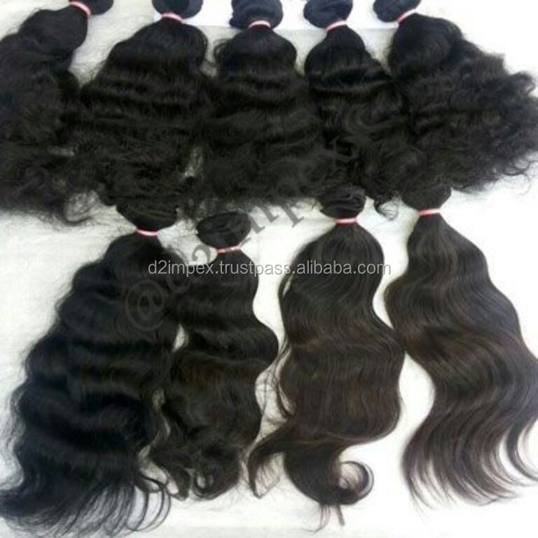 natural indian sew hair extensions kg