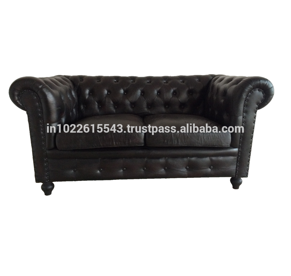 Awesome Industrial Genuine Leather Chesterfield Sofa Antique Leather 2 Seater Sofa Buy Chesterfield Corner Leather Sofa Chesterfield Two Seatr Leather Pabps2019 Chair Design Images Pabps2019Com
