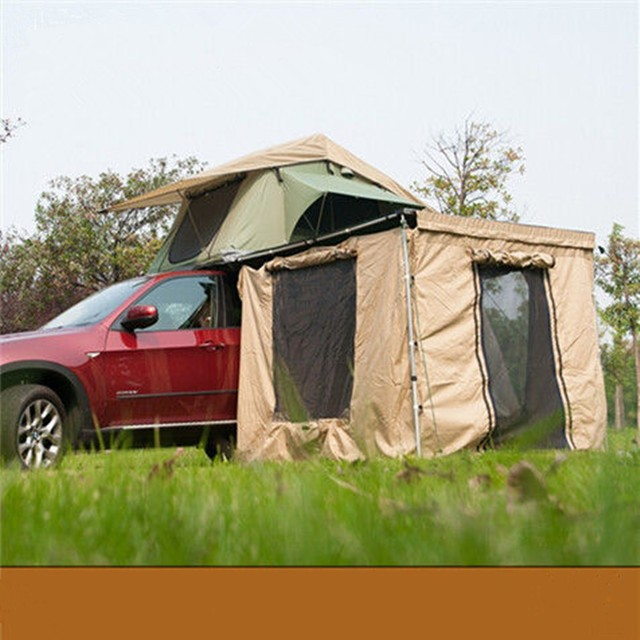 Car Vehicle Side Awning With Side Walls Annex Room - Buy ...