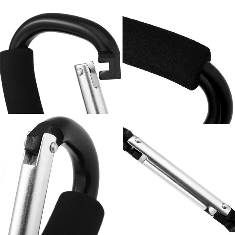 Carabiner Grab Hook Handle Clip Holder