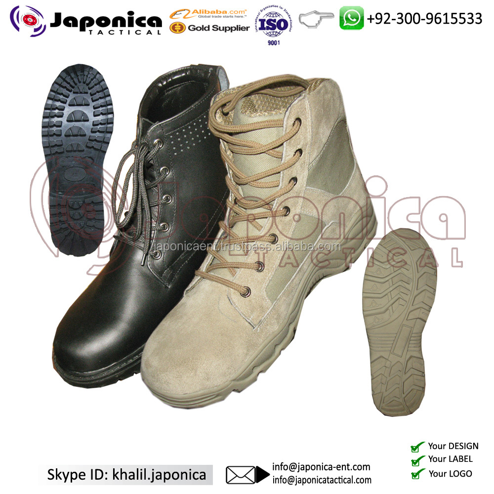 2018 Newly Designed Army Tactical Waterproof Combat Boots