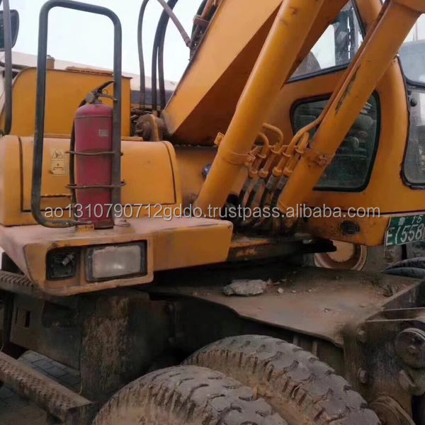 Used Hyundai Excavator 130 wheel excavator, Used Hyundai 130 /140 /150 Wheel Excavator made in Korea