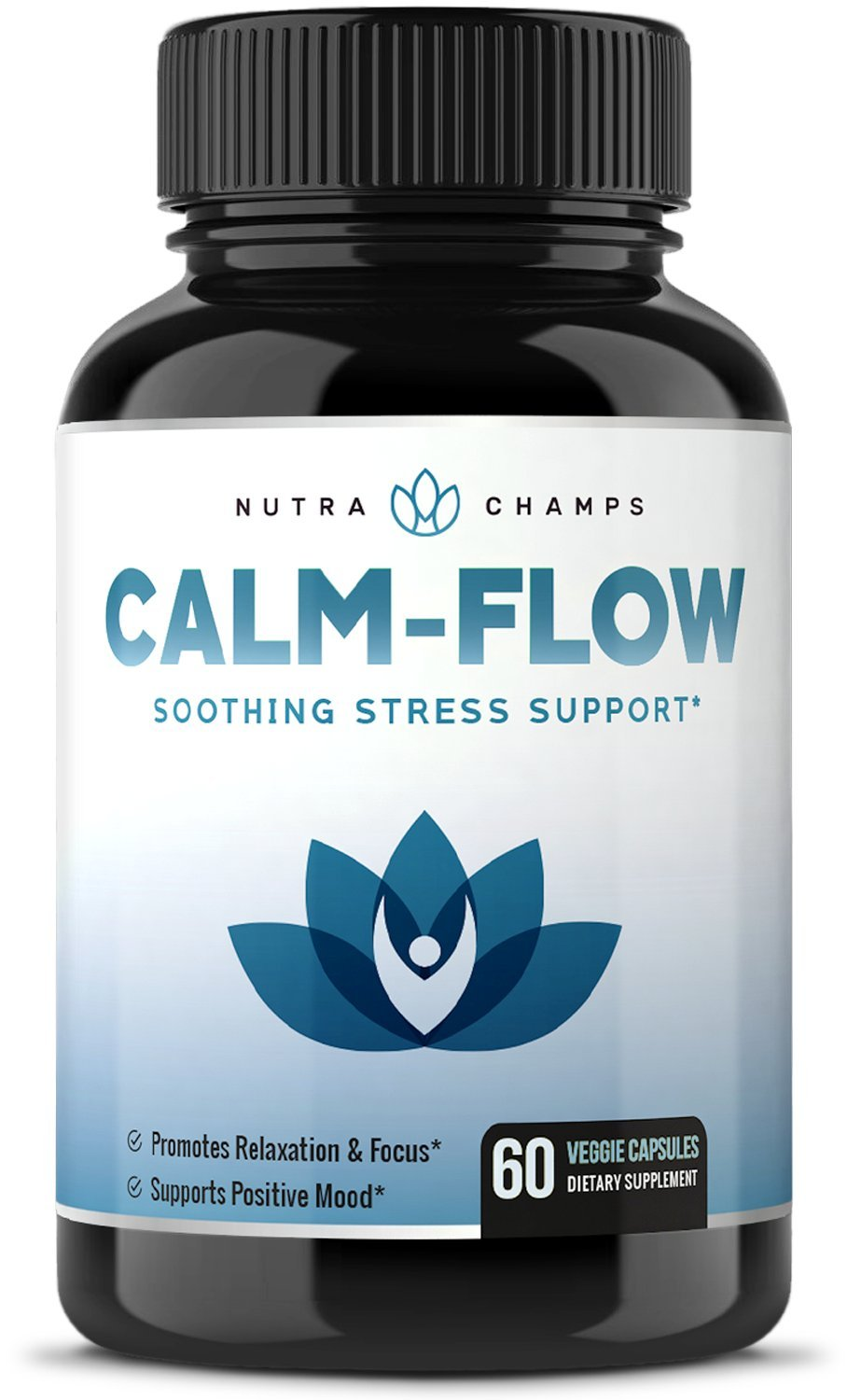 CALMSENSE Stress Relief Supplement - Calming Herbal Blend & Vitamin B Complex - Keep Your Mind & Body Relaxed, Focused & Positive - Supports Seratonin Increase, Boosts Mood & Relieves Anxiety