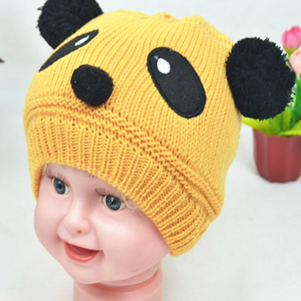 301de61fd94 Iumer Cap Hat Beanie Baby Toddlers Kids Girls Boys Stretchy Warm Winter  Panda Cap Hat Beanie