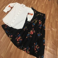 Exclusive designer tops / western wear tops with skirts / short tops for girls