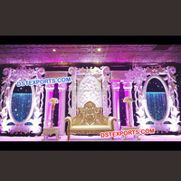 Latest Design Wedding Stage Set Asian Wedding Stage Decoration New Design Stage for Wedding