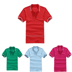 Customized Plain Short Sleeves Men Polo t Shirts
