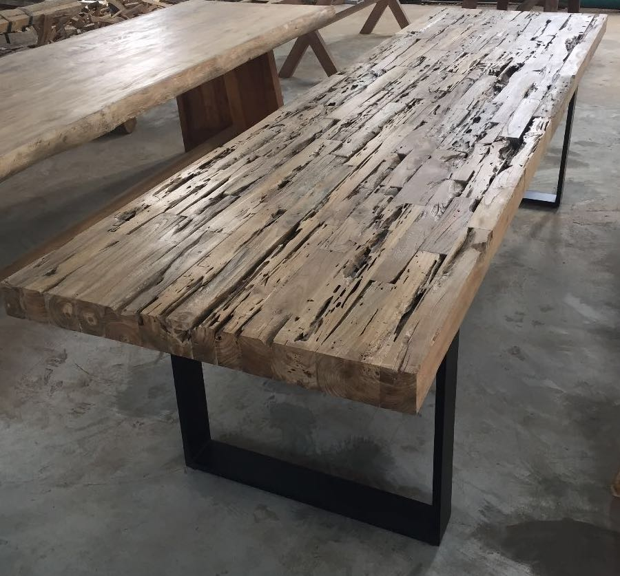 Rustic Teak Dining Table For Restaurant View Coffee Product Details From Cv Pangestu On Alibaba