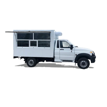 Mobile Vehicle for Food delivery UAZ New Car Food Cart Truck