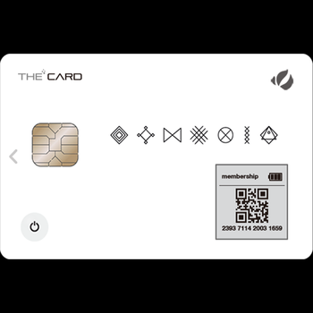 The card - Touch type
