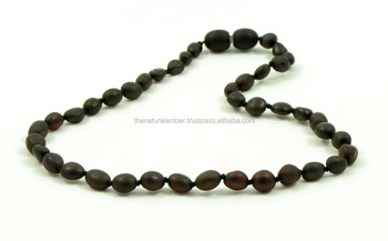 Amber Teething Necklace For Babies And Children Genuine Baltic Amber