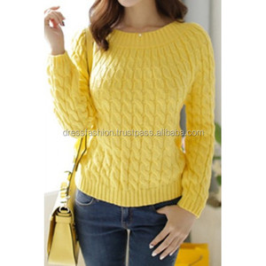 Long Sleeve zipper up Sweater for Ladies