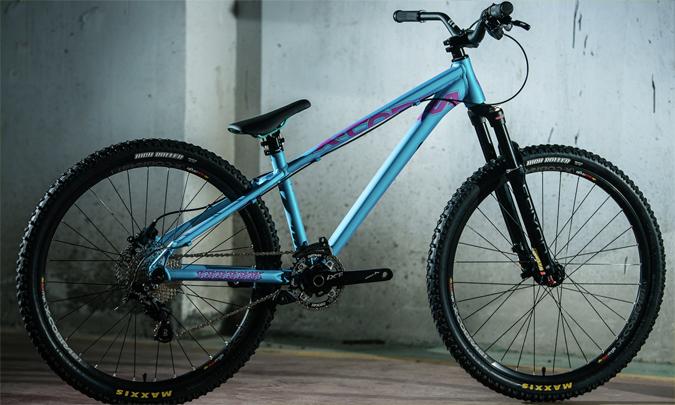 OEM/ ODM Freehopper DJ dağ bisikleti kir atlama bisiklet iskeleti 26 inç döngüsü çerçeve 135x10mm