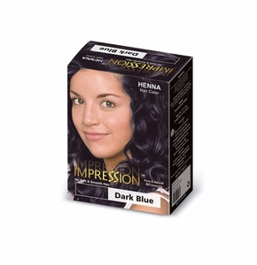 Impression Hair Color Dark Blue