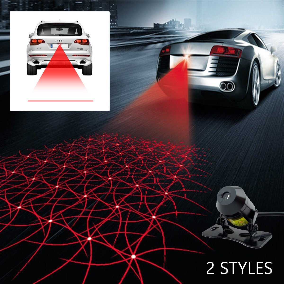 Cheap Warning Symbols On Cars Find Deals Car Overheating Alarm Get Quotations Laser Lights For Universal Auto Rear End Fog Lamp And