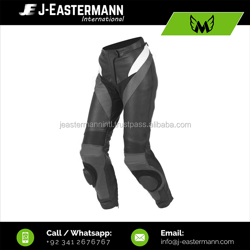 Women Cheap Motorcycle Pant, Low Price Ladies Leather Motorbike Pant