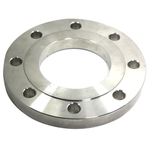 Galvanized seamless stainless steel pipe flange with mirror surface