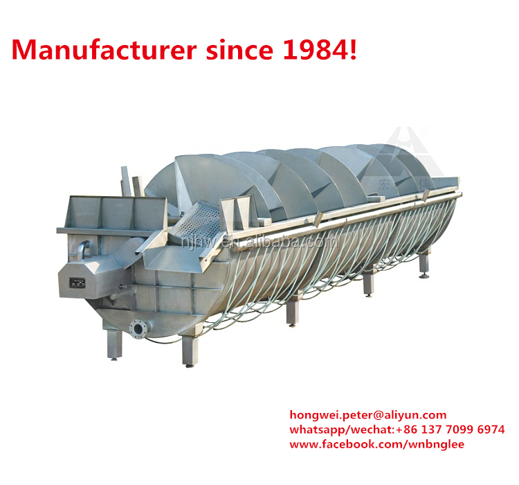 China Manufacturer Best Price For Stainless Steel Spiral Chicken Chiller  Pre-cooler For Chicken Slaughtering Production Line - Buy Chicken